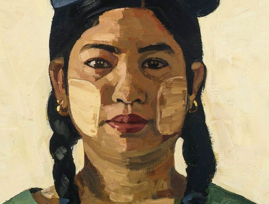 TIN TIN MAW (WOMAN WITH EGGS ON HER HEAD)