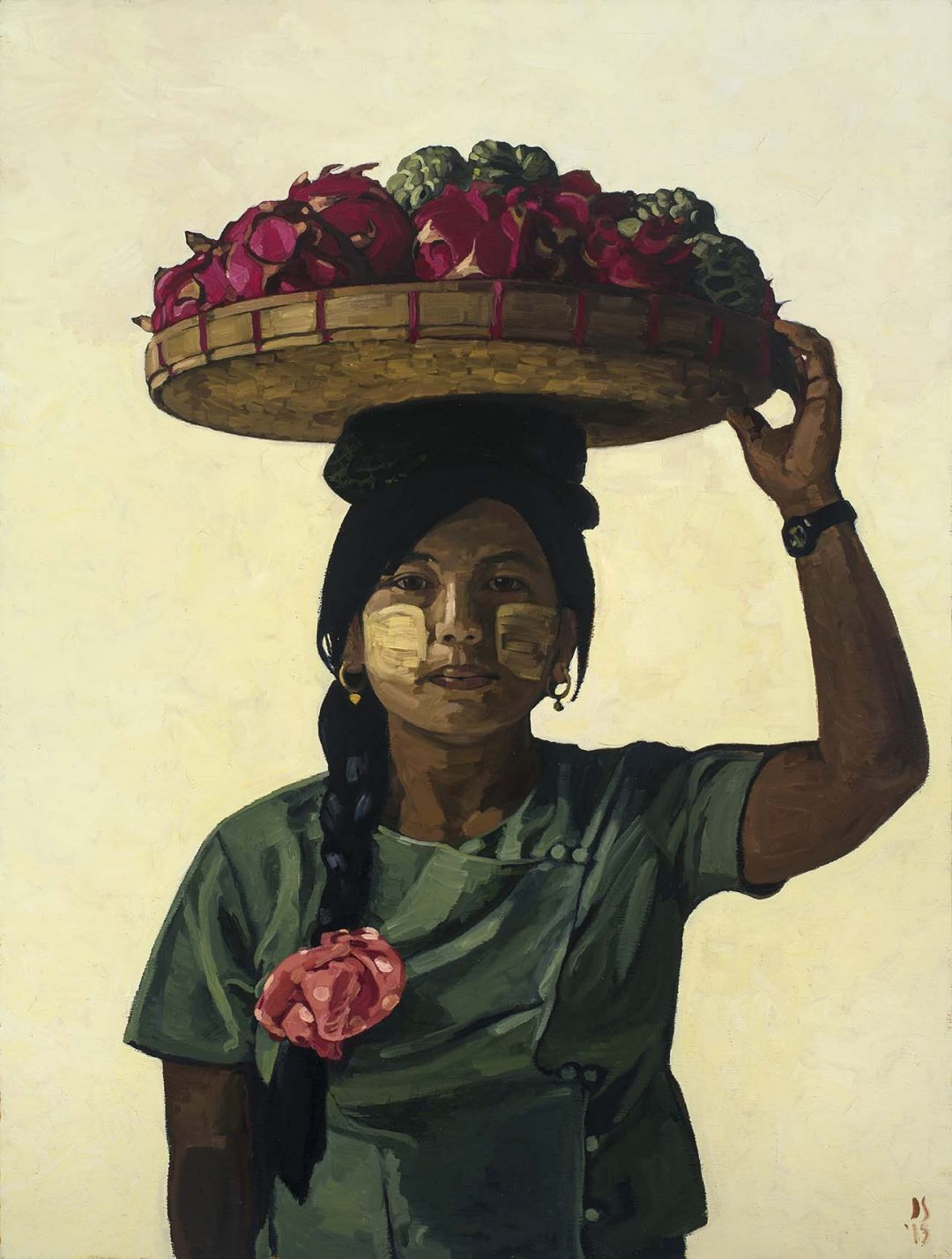 GYI GYI ( WOMAN WITH DRAGON FRUIT ON HER HEAD)